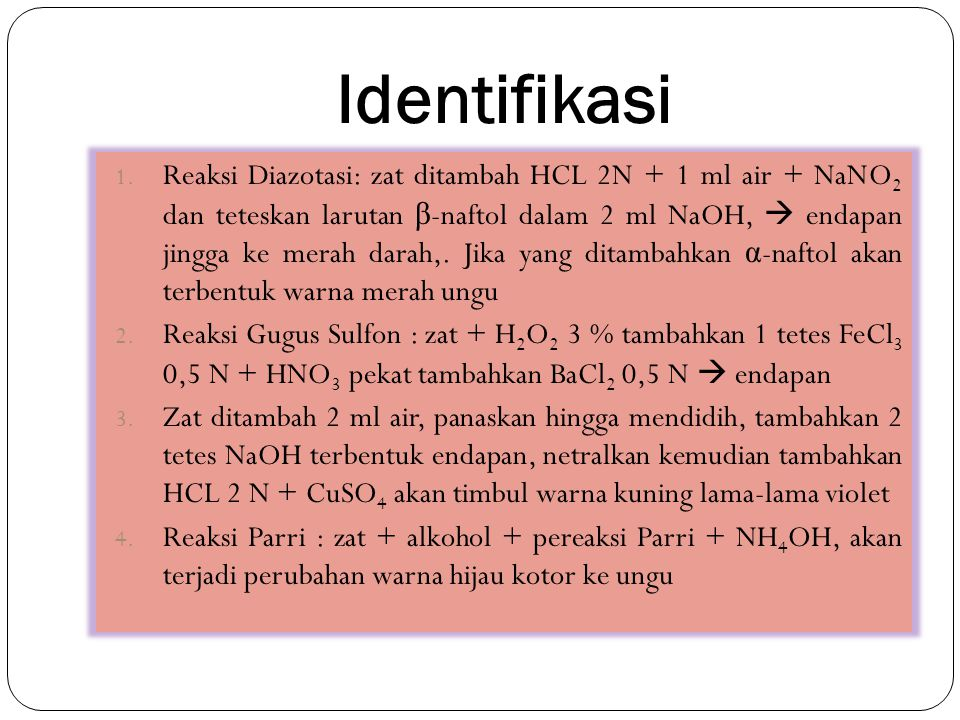 Identifikasi