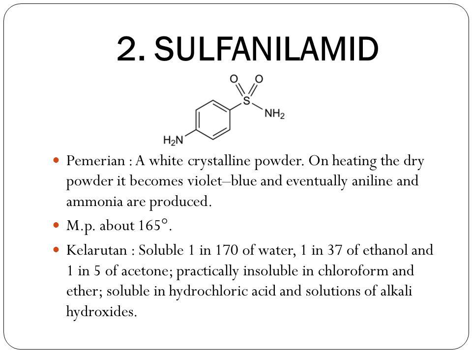 2. SULFANILAMID
