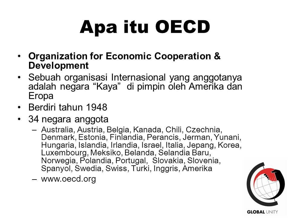 Apa itu OECD Organization for Economic Cooperation & Development