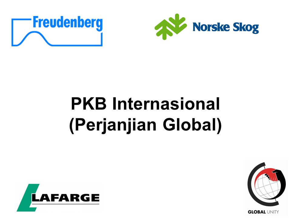 PKB Internasional (Perjanjian Global)