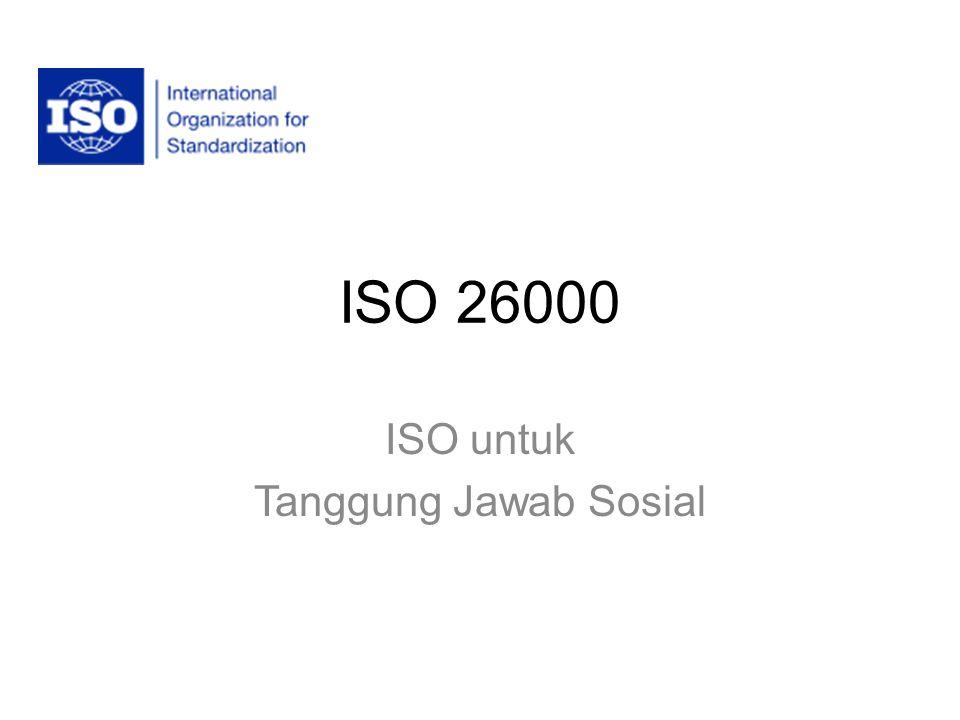 ISO untuk Tanggung Jawab Sosial