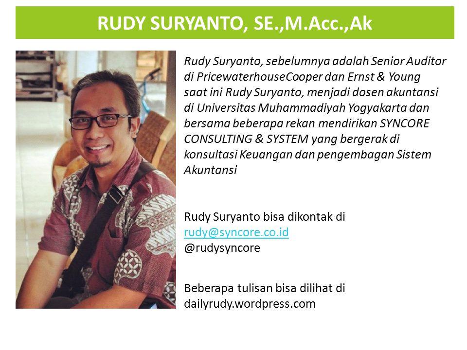 RUDY SURYANTO, SE.,M.Acc.,Ak