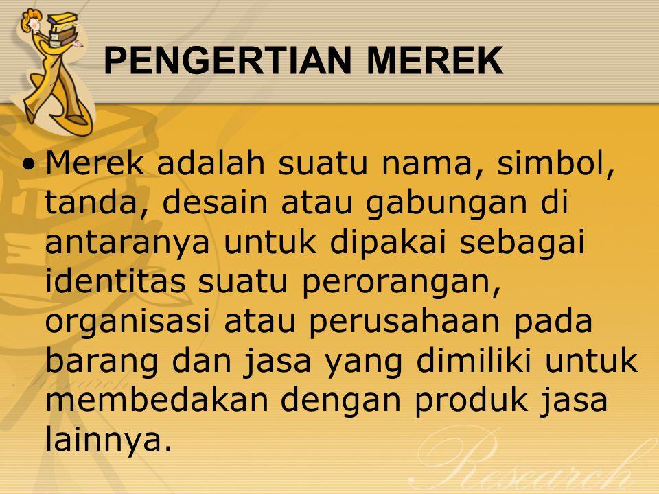 PENGERTIAN MEREK