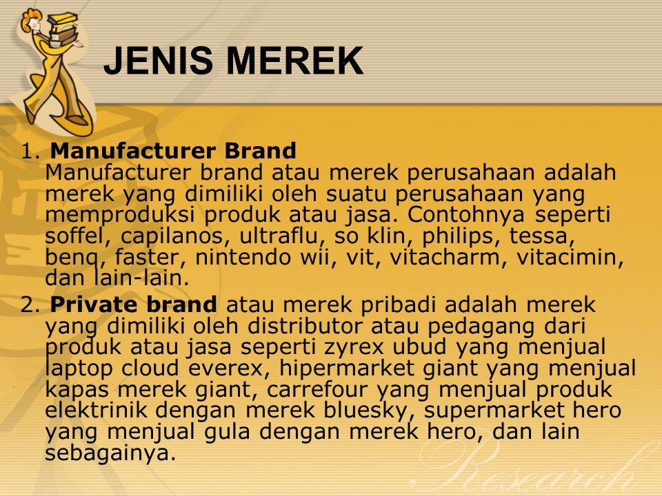 JENIS MEREK