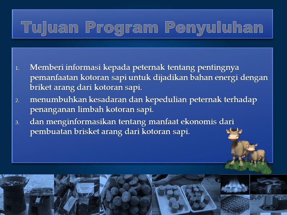 Tujuan Program Penyuluhan