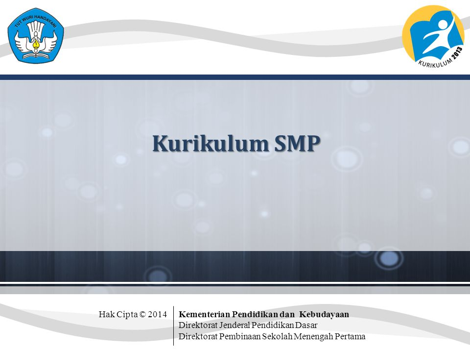 Kurikulum SMP