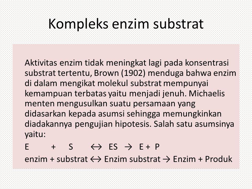 Kompleks enzim substrat