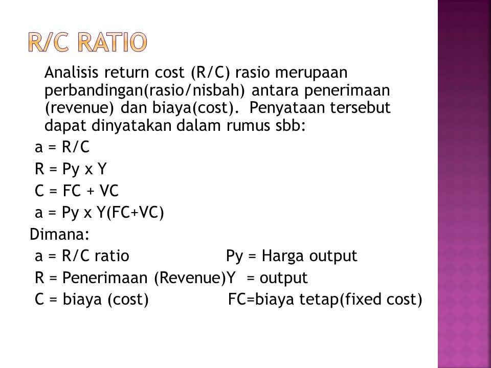 r/c ratio
