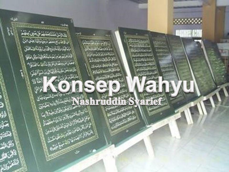 Konsep Wahyu Nashruddin Syarief