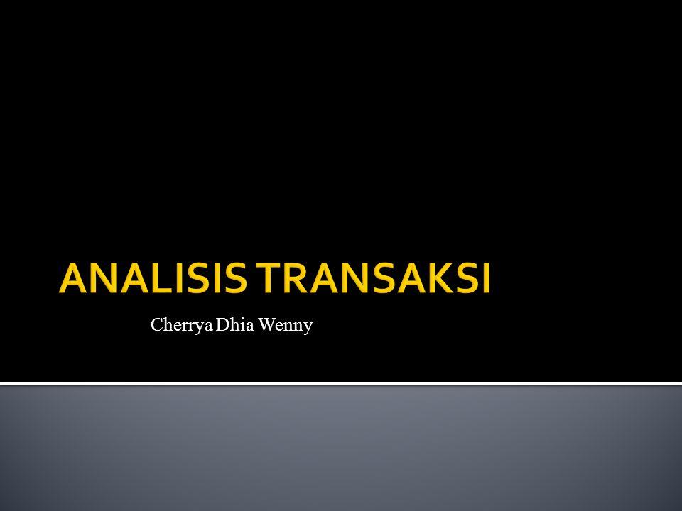 ANALISIS TRANSAKSI Cherrya Dhia Wenny