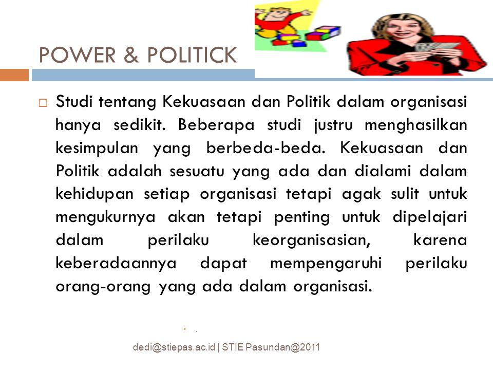 POWER & POLITICK