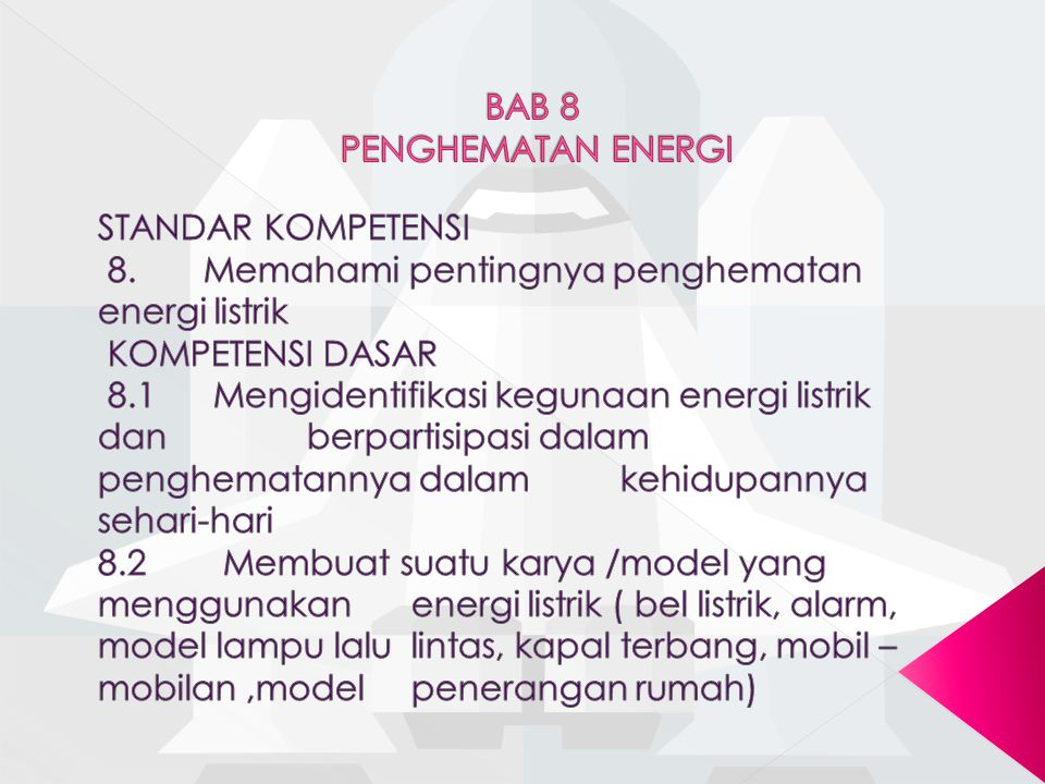 BAB 8 PENGHEMATAN ENERGI