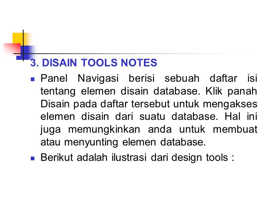 3. DISAIN TOOLS NOTES