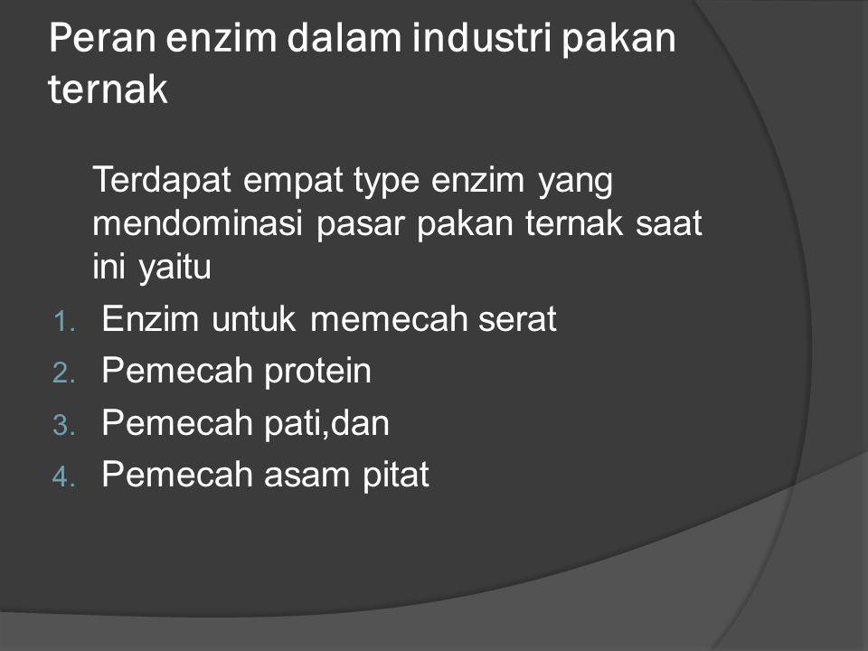Peran enzim dalam industri pakan ternak