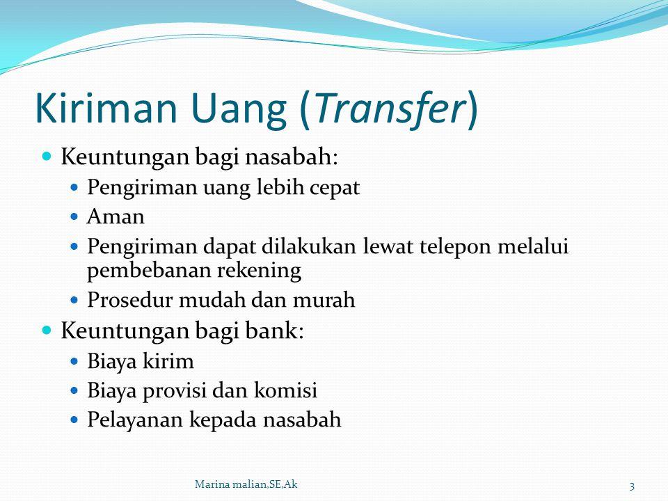 Kiriman Uang (Transfer)
