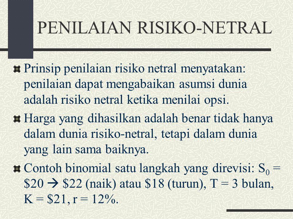 PENILAIAN RISIKO-NETRAL