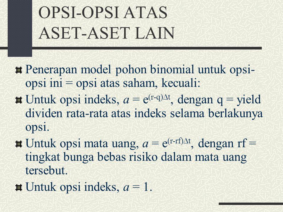 OPSI-OPSI ATAS ASET-ASET LAIN