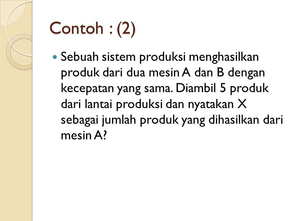 Contoh : (2)