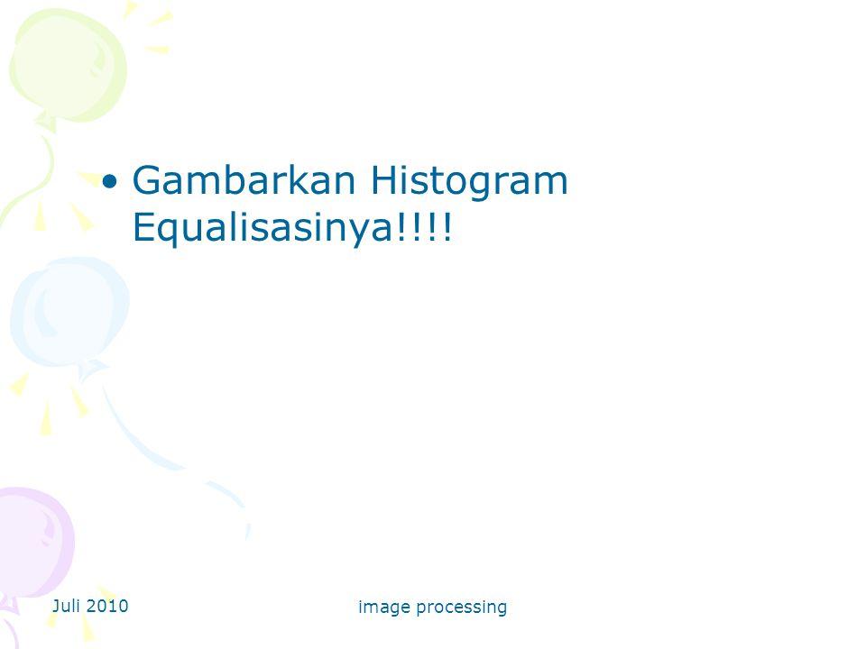 Gambarkan Histogram Equalisasinya!!!!