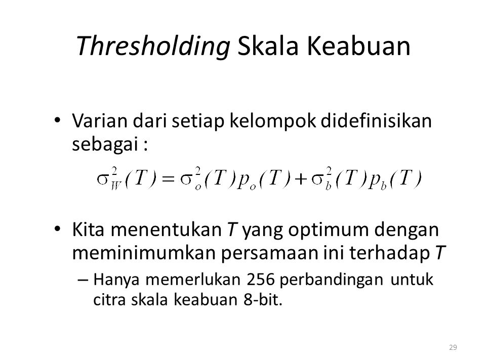 Thresholding Skala Keabuan