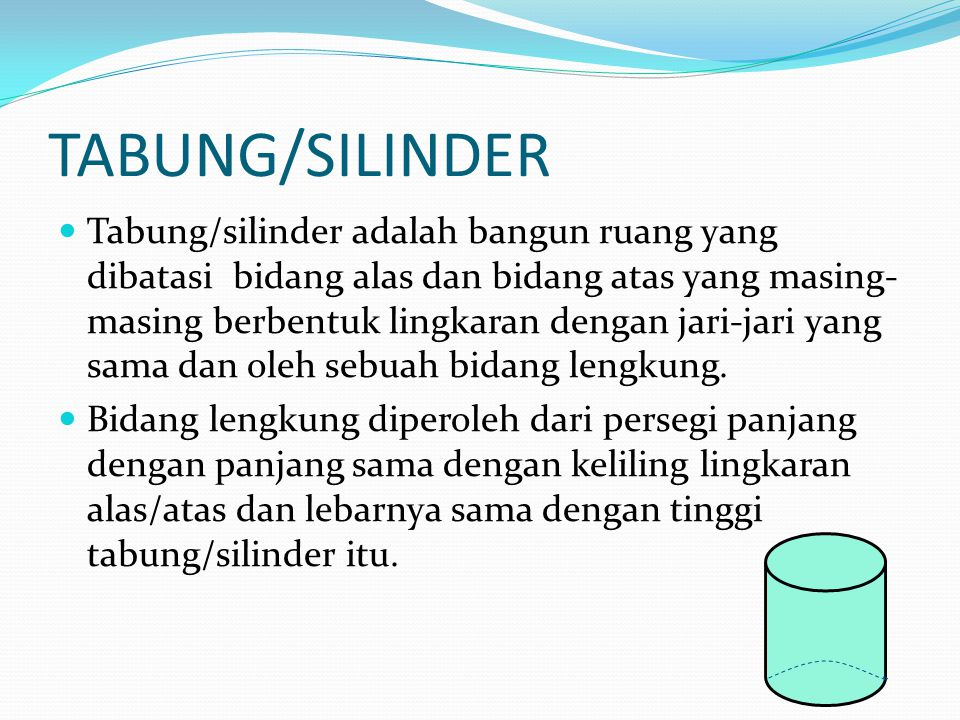 TABUNG/SILINDER
