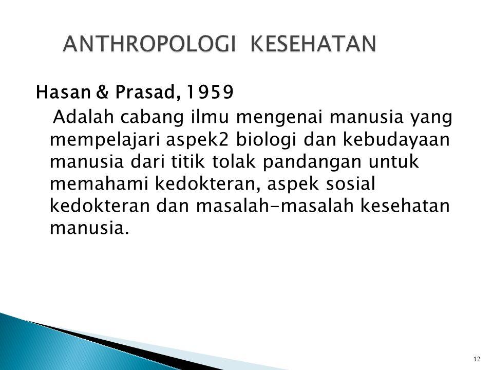 ANTHROPOLOGI KESEHATAN