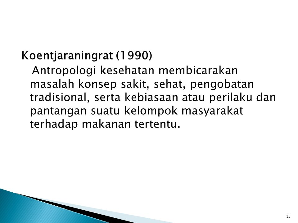 Koentjaraningrat (1990)