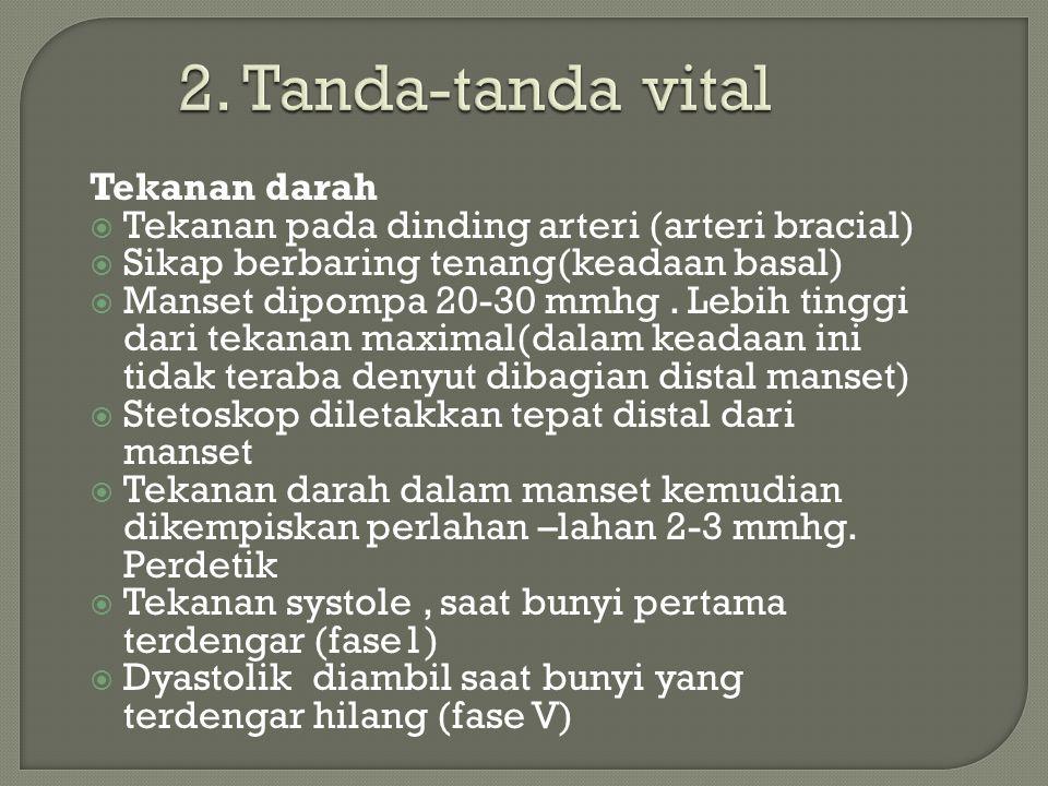 2. Tanda-tanda vital Tekanan darah