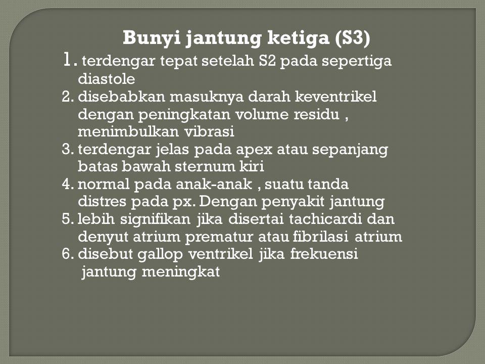 Bunyi jantung ketiga (S3)