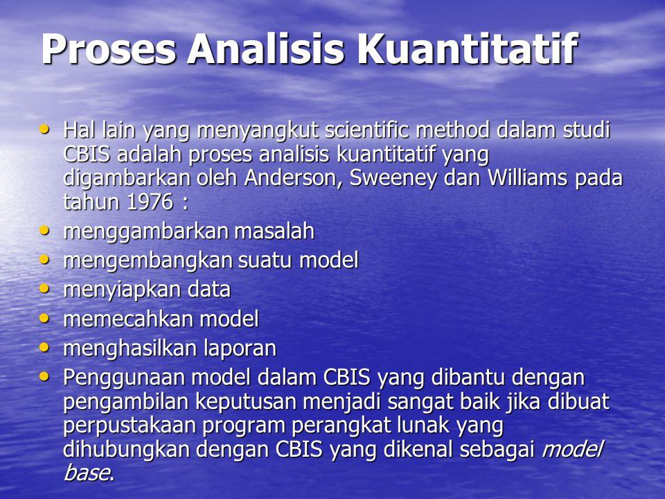 Proses Analisis Kuantitatif