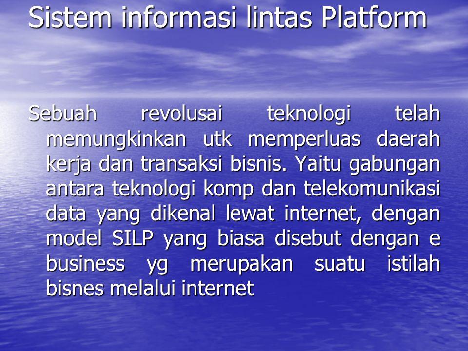 Sistem informasi lintas Platform