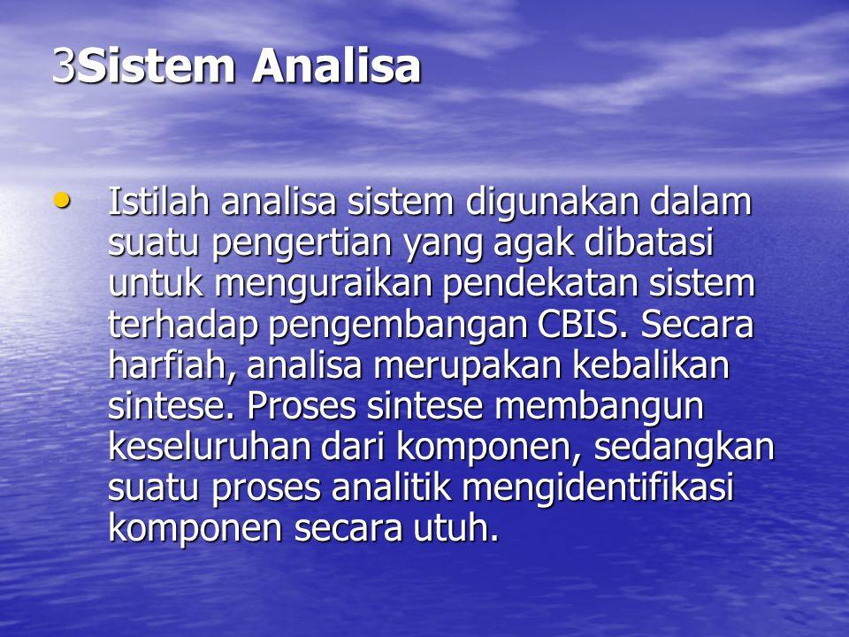 3Sistem Analisa