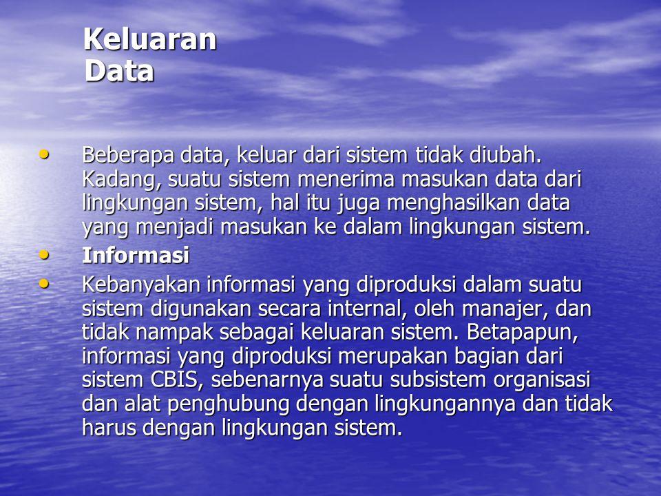 Keluaran Data