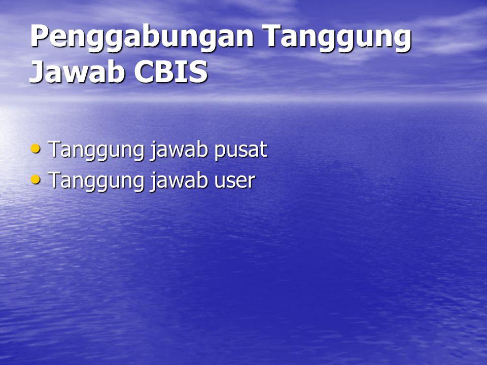 Penggabungan Tanggung Jawab CBIS