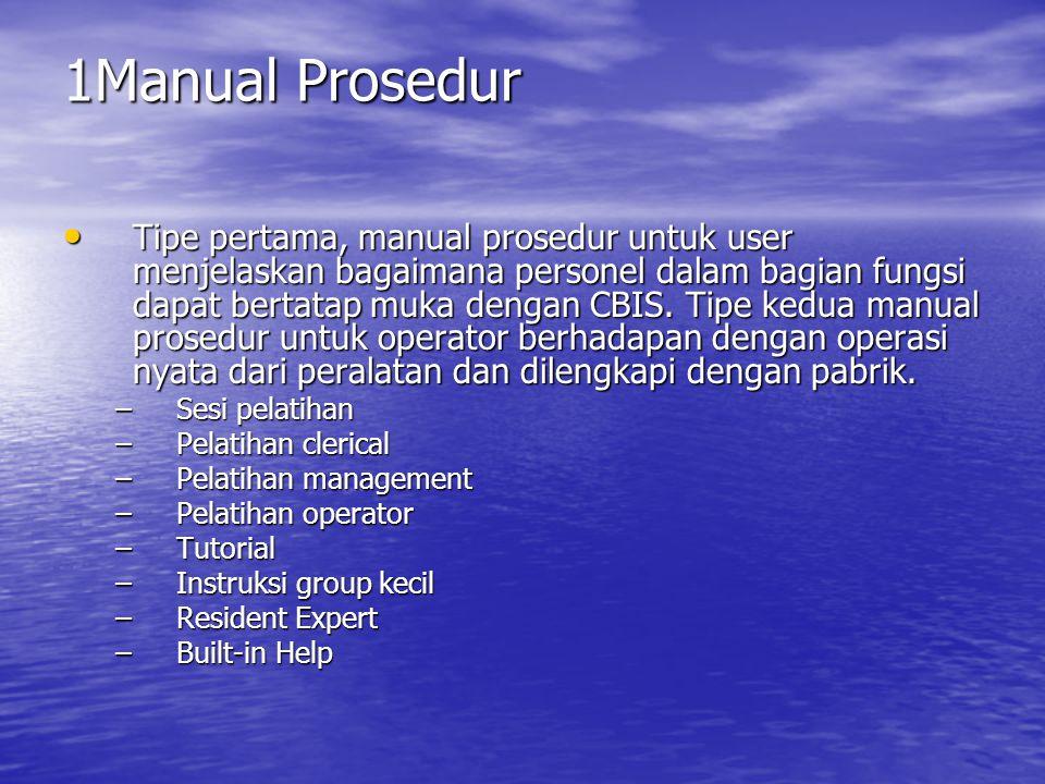 1Manual Prosedur