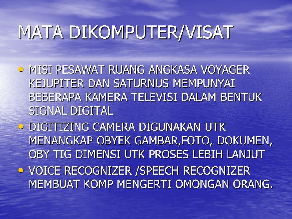 MATA DIKOMPUTER/VISAT