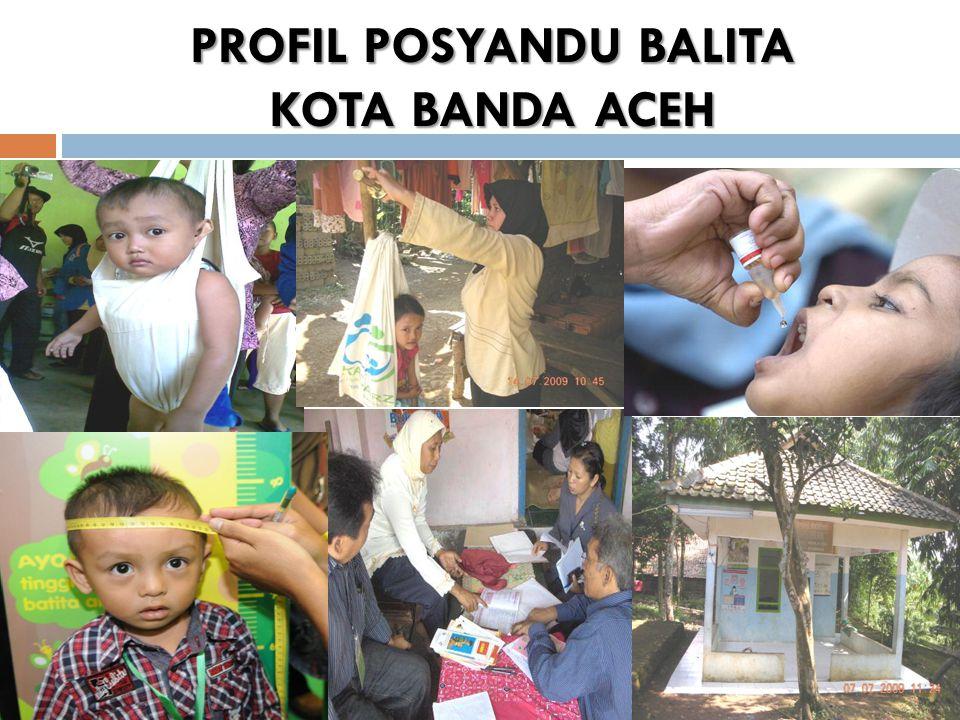 PROFIL POSYANDU BALITA KOTA BANDA ACEH