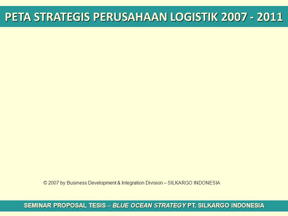 PETA STRATEGIS PERUSAHAAN LOGISTIK 2007 - 2011