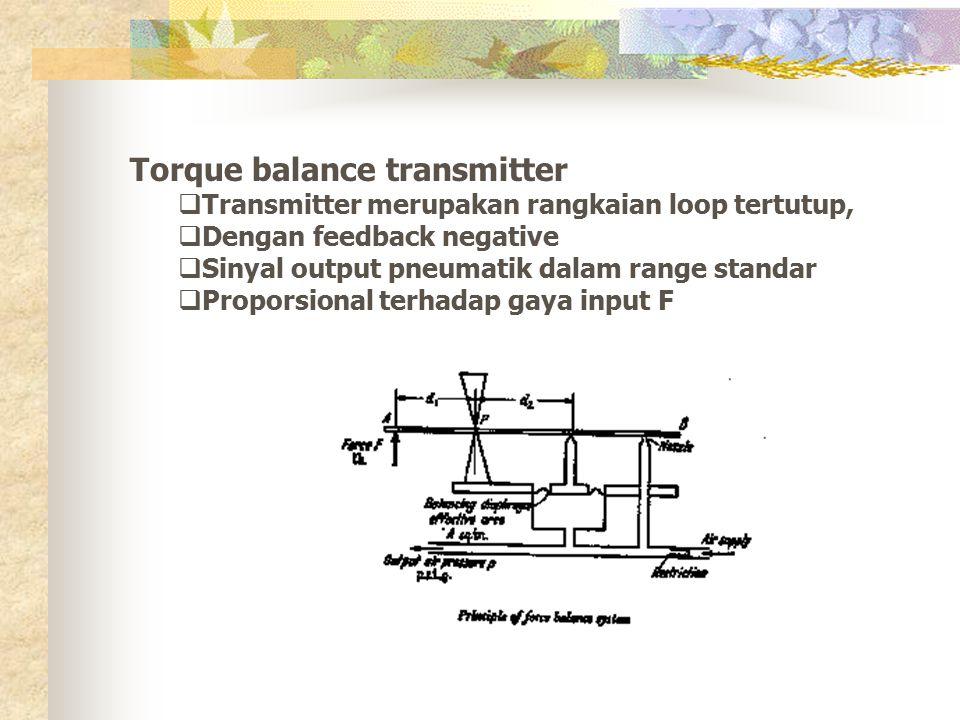 Torque balance transmitter