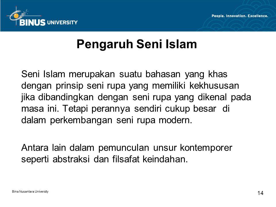 Pengaruh Seni Islam