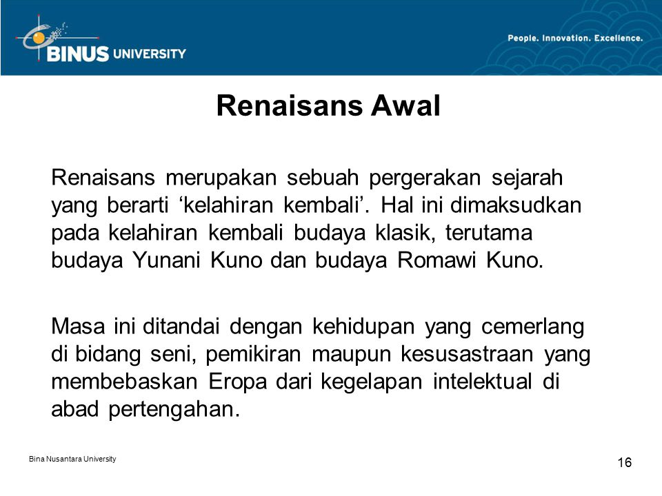 Renaisans Awal