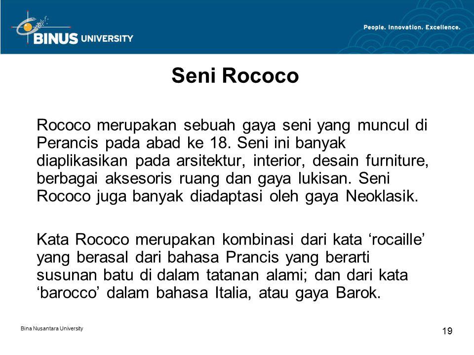 Seni Rococo
