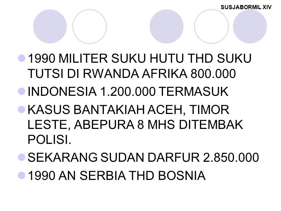 1990 MILITER SUKU HUTU THD SUKU TUTSI DI RWANDA AFRIKA 800.000