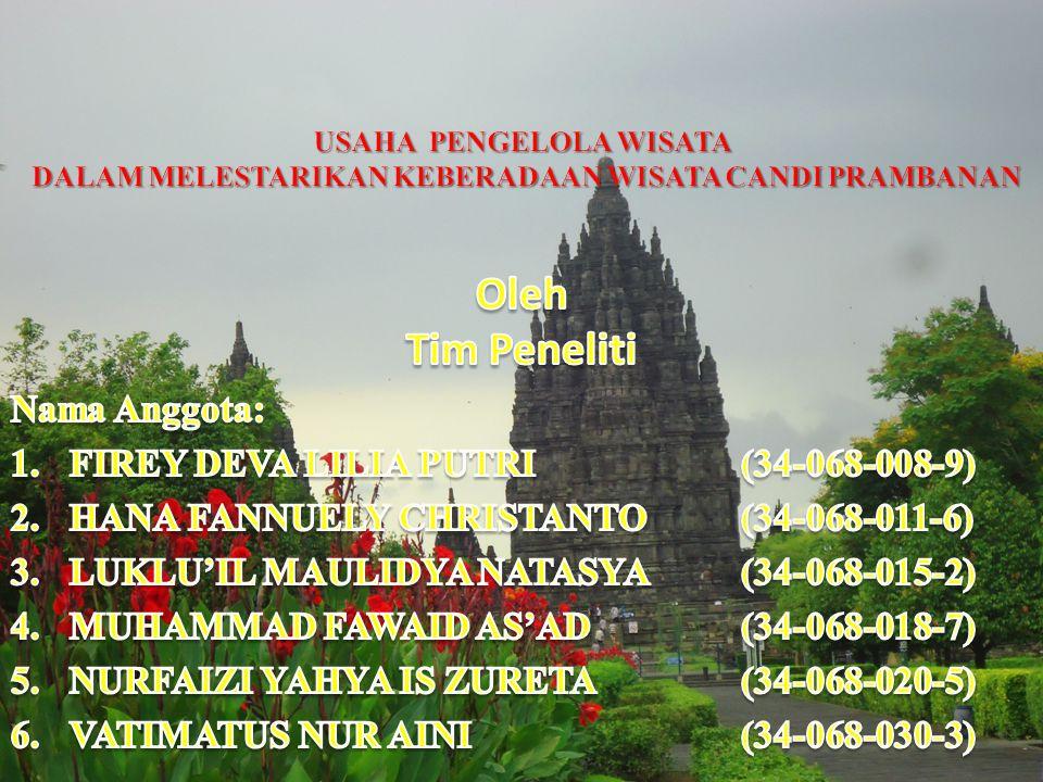 Oleh Tim Peneliti Nama Anggota: FIREY DEVA LILIA PUTRI (34-068-008-9)