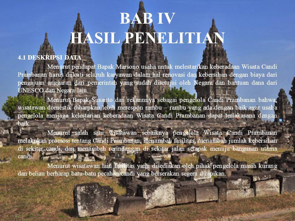 BAB IV HASIL PENELITIAN