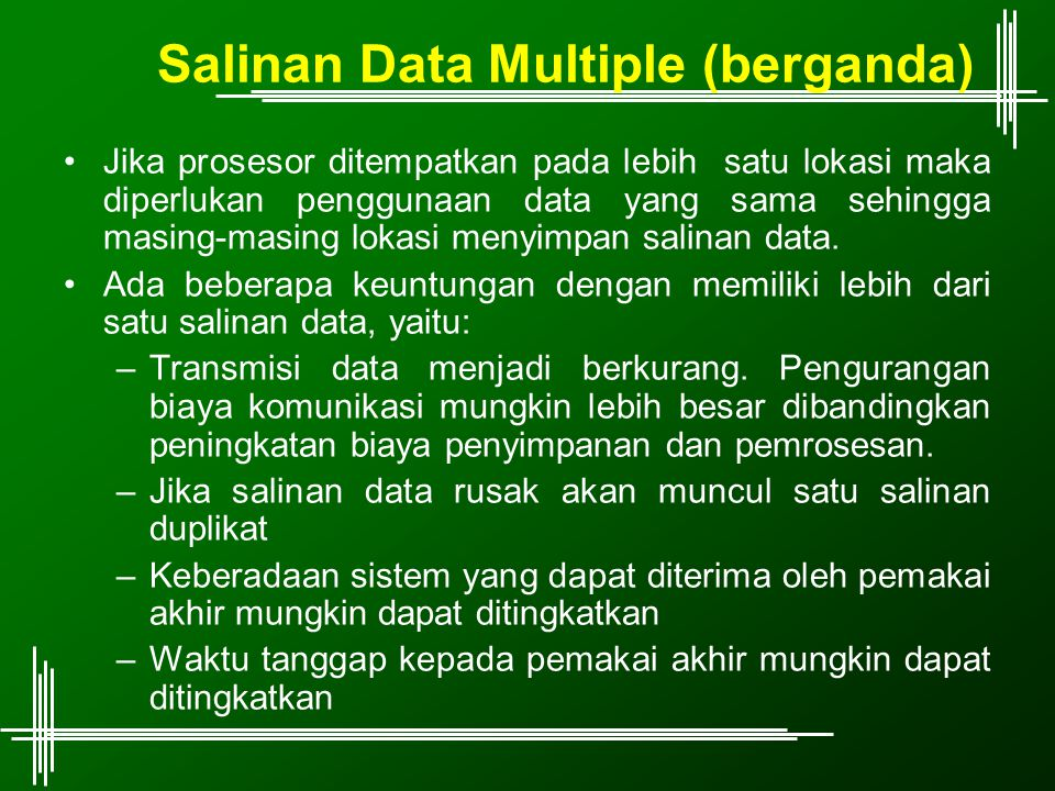 Salinan Data Multiple (berganda)