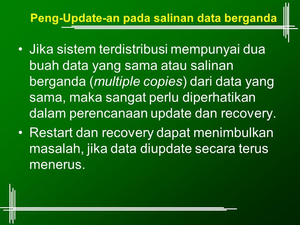 Peng-Update-an pada salinan data berganda