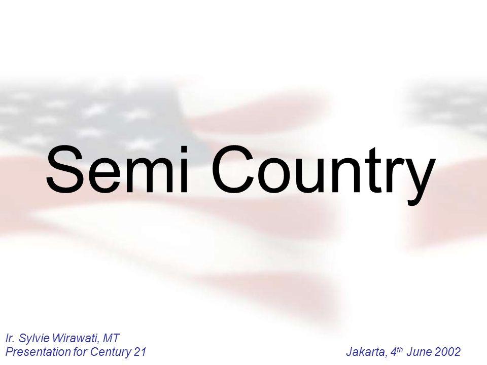 Semi Country Ir. Sylvie Wirawati, MT