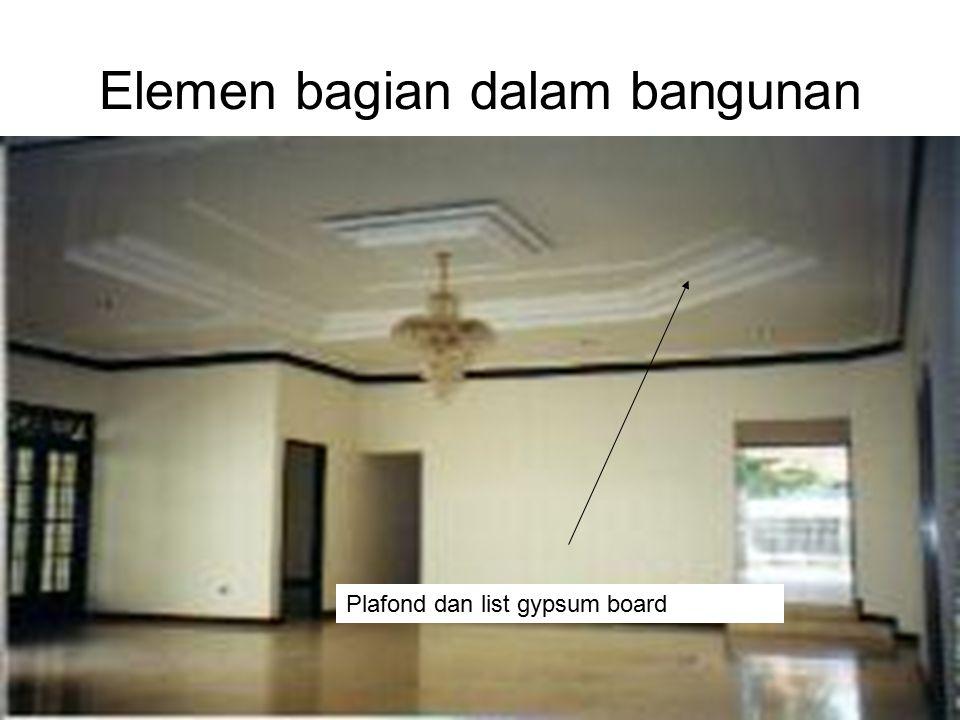 Elemen bagian dalam bangunan