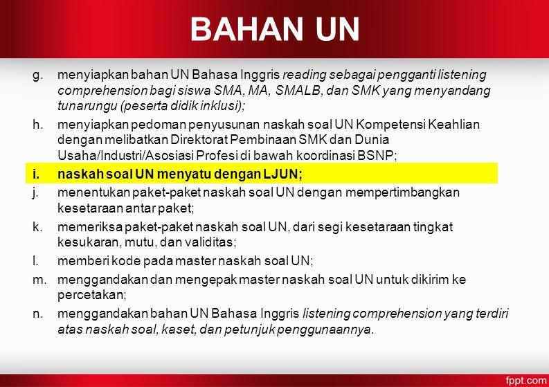 BAHAN UN